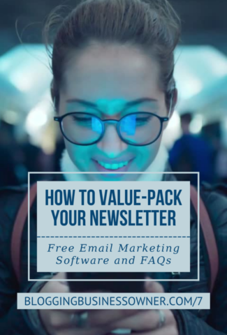 How to Value-Pack Your Newsletter: Free Email Marketing Software and FAQs