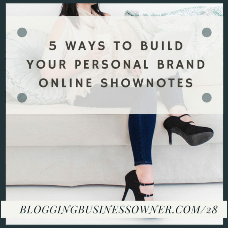 5 Ways To Build Your Personal Brand Online